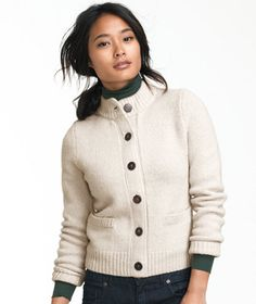 f4c7c43dd1 I m a sucker for sweaters. Brushed Lambswool Cardigan  SWEATERS
