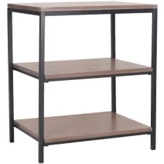 Safavieh Zeke Honey Natural Shelf Unit | Overstock.com Shopping - Great Deals on Safavieh Media/Bookshelves