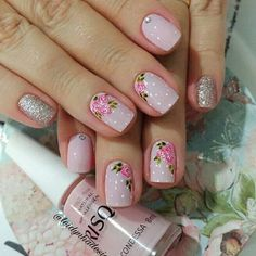 #unasdecoradas Crazy Nails, Love Nails, Stylish Nails, Trendy Nails, Do It Yourself Nails, Stamping Nail Art, Cute Nail Art, Diy Nails, Nails Inspiration