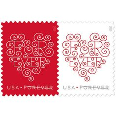 Postage Stamp Trucks See More 300 Forever Stamps Heart Designs 15 Sheets With 20 In Each Sheet Brand New