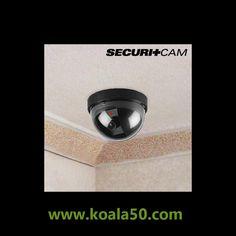 Cámara de Seguridad Simulada Domo Securitcam - 2,59 €   Con el sencillo dispositivo de la cámara de seguridad simulada Domo Securitcam podrás proteger de intromisiones tu hogar y tu intimidad. Esta útilcámarade seguridad simulada es un sistema...  http://www.koala50.com/gadgets-originales/camara-de-seguridad-simulada-domo-securitcam