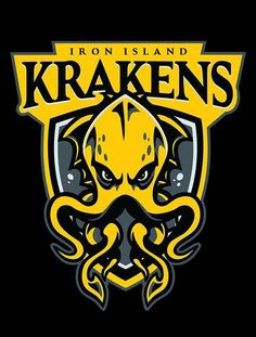 GO KRAKENS T-Shirt $12 Game of Thrones tee at Once Upon a Tee!