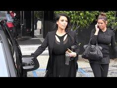 Pregnant Kim Kardashian Shops For Jewels At XIV Karats In