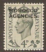 Morocco Agencies 1949 4d Grey-green. SG83.