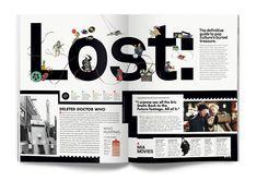 Magazine Design, Wire - #magazine #layout #design