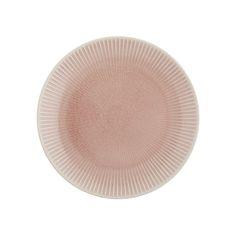 Tokyo Design Studio - Textured Stripe Dessert Plate - Pink