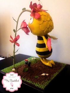 Maya Bee Cake - Cake by My Sweet Art