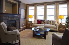 Living Room   WestView Builders   Montrose Calgary   Showhome New Community, Fireplace Ideas, Mountain View, Calgary, Living Room, Design, Home Decor, Homemade Home Decor