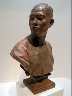 Jean-Baptiste Carpeaux (1827-1875) Bust of a Chinese Man