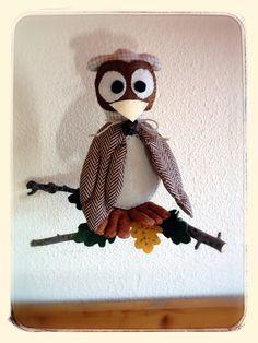 Búho. Owl.
