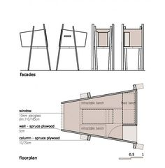 Zelkova tree house plans for two trees | Treehouse Guides | For my ...