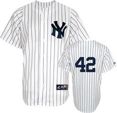 ba9ef6ab0 Mariano Rivera Jersey  Majestic Home Pinstripe Number Only New York Yankees  Replica Jersey  99.99 http