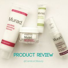 Product review for Murad Perfectly Ageless Skin Renewing Set // Candice O Beauty