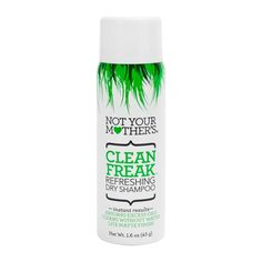 Don't waste precious time in the bathroom, just use Not Your Mother's Clean Freak Dry Shampoo. Get that perfect hair (and the perfect guy! Hair Shampoo, Dry Shampoo, Beauty Products You Need, Hair Products, Styling Products, Clean Freak, One Hair, Hand Lotion, Travel Size Products