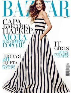 Sarah Jessica Parker for Harper's Bazaar Russia | Tom & Lorenzo Fabulous & Opinionated