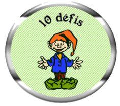 10 défis avec Perlin le lutin, cp, autonomie, lecture, numération
