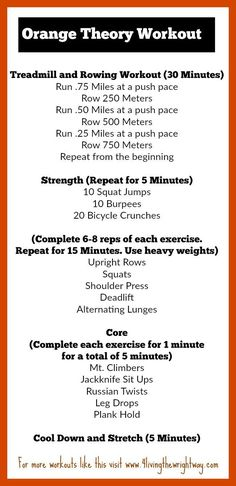 15 best orange theory workouts images on