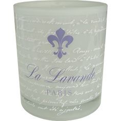La Lavande Paris Frosted Glass Tea Light Holder