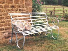 UK ironwork garden furniture made by English Ironwork - wrought iron furniture, outdoor furniture, benches, seats, patio furniture, ironwork, tree guards, rose arbours, England""