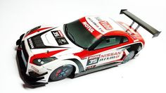 Nissan GT-R Nismo GT3 Paper Car Free Vehicle Paper Model Download