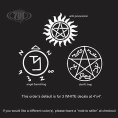 SUMMER SALE - Supernatural Pack - white