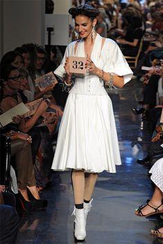 Jean Paul Gaultier Spring 2012 | Paris Fashion Week