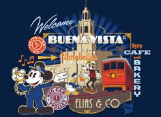 New+Look+for+Buena+Vista+Street+Merchandise+at+Disney+California+Adventure+Park   Can't wait to go shopping!