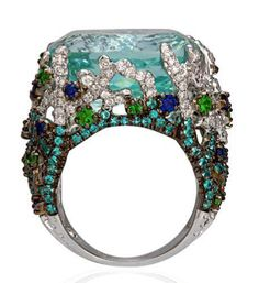 Ask the Jewelry Guru! Ring from Alessio Boschi Jewelry Art, Jewelry Accessories, Vintage Jewelry, Fine Jewelry, Fashion Jewelry, Cheap Accessories, Best Jewelry Stores, Ring Earrings, Beautiful Rings