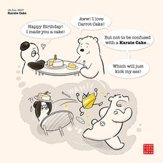 Panda and Polar Bear – A Fuzzy Little Comic