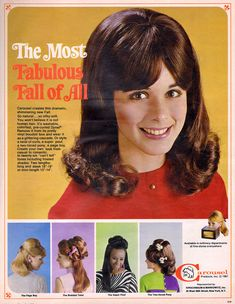 1960s Hair, Magazine Advert, Seventeen Magazine, Page Boy, 1960s Fashion, Retro Look, Twiggy, Fall Hair, Vintage Ads