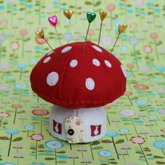 pin cushion mushroom - Google Search