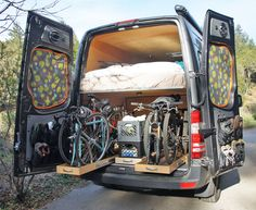 Sprinter RV: The AdventureMobile Sprinter Hits the Road
