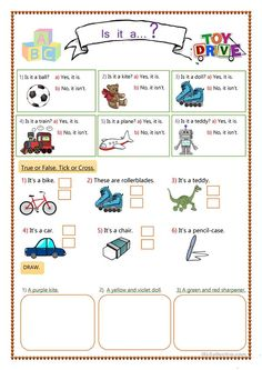 Toys for Kids - English ESL Worksheets Kids English, Teaching Jobs, Worksheets For Kids, Writing Skills, Vocabulary, Distance, Kids Toys, Language, Classroom