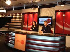 Quays News TV studio