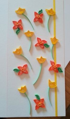 Paper Quilling How To – Spring Flowers Tutorial