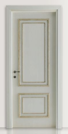 PIETRALTA 1324/QQ Silver-grey painted door Pietralta© Classic Wood Interior Doors | Italian Luxury Interior Doors | New Design Porte Lorenzo's Doors
