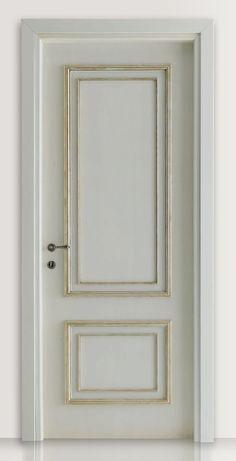 PIETRALTA 1324/QQ Silver-grey painted door Pietralta© Classic Wood Interior Doors | Italian Luxury Interior Doors | New Design Porte Lorenzo's Doors