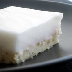Haupia - a traditional Hawaiian coconut pudding dessert