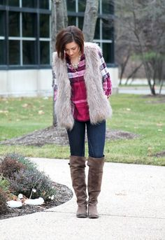 My winter uniform on the blog today