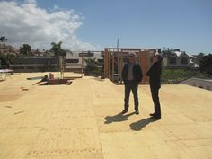 Framing | Brion Jeannette Architecture | Newport Beach California | Energy Conscious Design