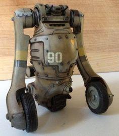 Dieselpunk: battle robot