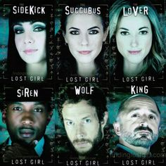 Lost Girl - Sidekick, succubus, lover, siren, wolf and king.