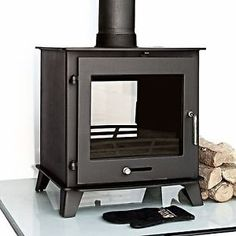 Ecosy+ 16kw Double Sided Multi-Fuel Woodburning Stove Stoves Dual Fronted Burner