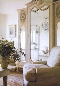 the armoire Excerpted from Shabby C - decor decor ideas room decorating before and after design decorating designs interior design 2012 Shabby Cottage, Shabby Chic Homes, Shabby Chic Decor, Chabby Chic, Rustic Decor, French Armoire, Antique Armoire, Painted Armoire, French Mirror