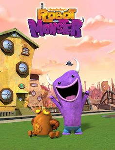 Robot and Monster 2000 Kids Shows, Old Kids Shows, Old Shows, Old Cartoon Network Shows, Old Cartoon Shows, Cartoon Pics, Right In The Childhood, Childhood Tv Shows, My Childhood Memories