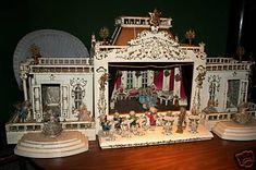 German Antique Toy Doll House Boutique Szalasi RARE!