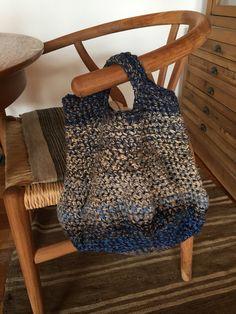 Crochet bag , cotton threads