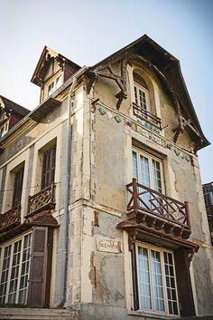 Architecture balnéaire à Saint Valéry en Caux