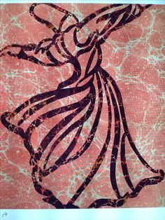 Whirling Dervish, Banner Ideas, Turkish Art, Marble Art, Sufi, Islamic Art, Tribal Tattoos, My Arts, Abstract