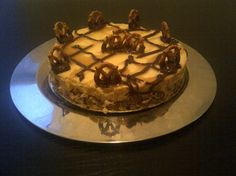 Gluten Free Salted Caramel Chocolate Cheesecake.  Now you're talkin'!